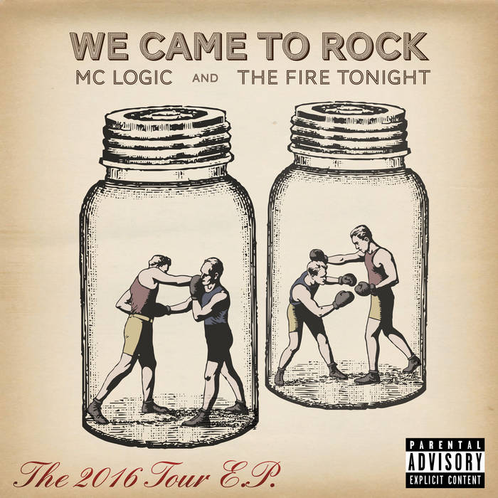 We Came to Rock - The 2016 Tour EP cover art