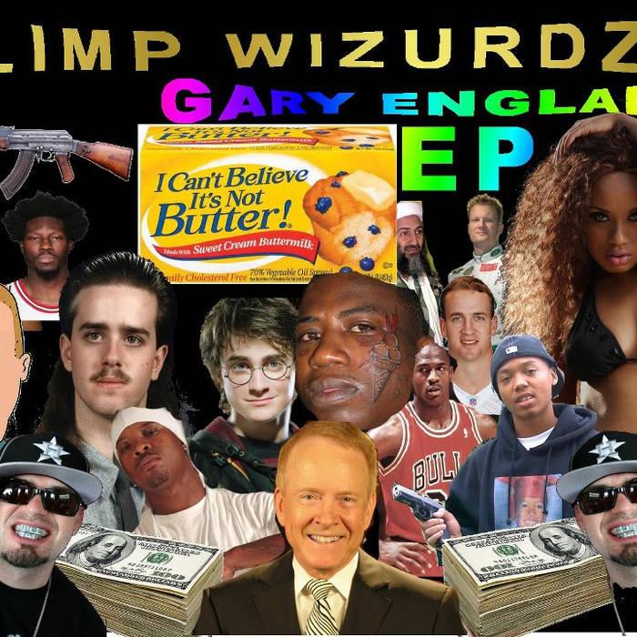 Gary England EP cover art