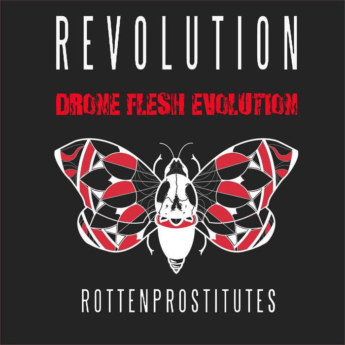 Rotten Prostitutes - Revolution (Drone Flesh Evolution) cover art