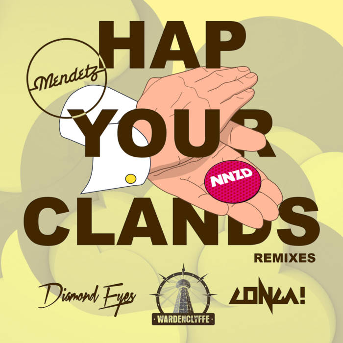 Hap Your Clands (Remixes) cover art