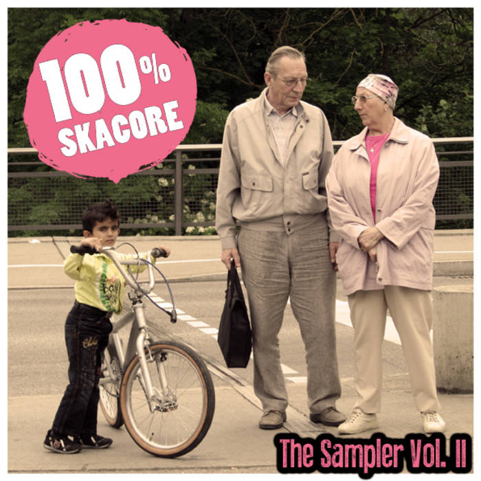 100 % Skacore The Sampler Vol. II cover art