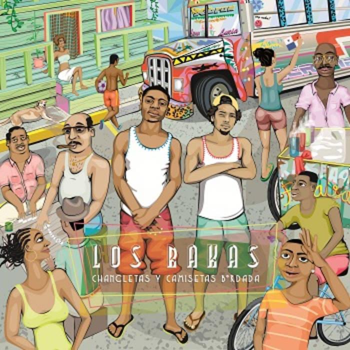 Chancletas y Camisetas Bordada cover art