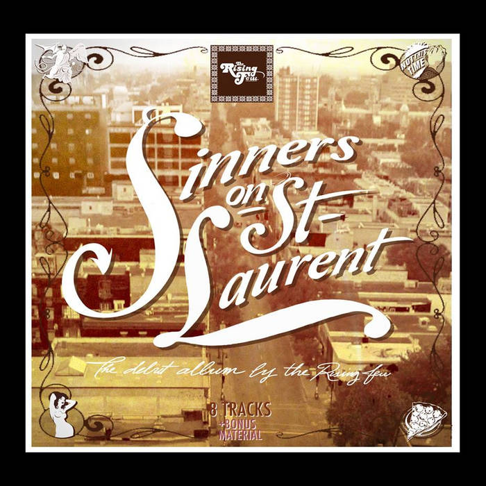 Sinners On St. Laurent cover art
