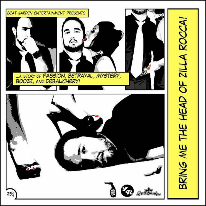 Bring Me the Head of Zilla Rocca cover art