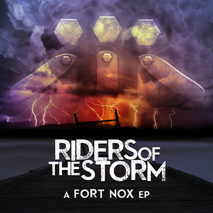 The EP (Riders of the Storm) cover art