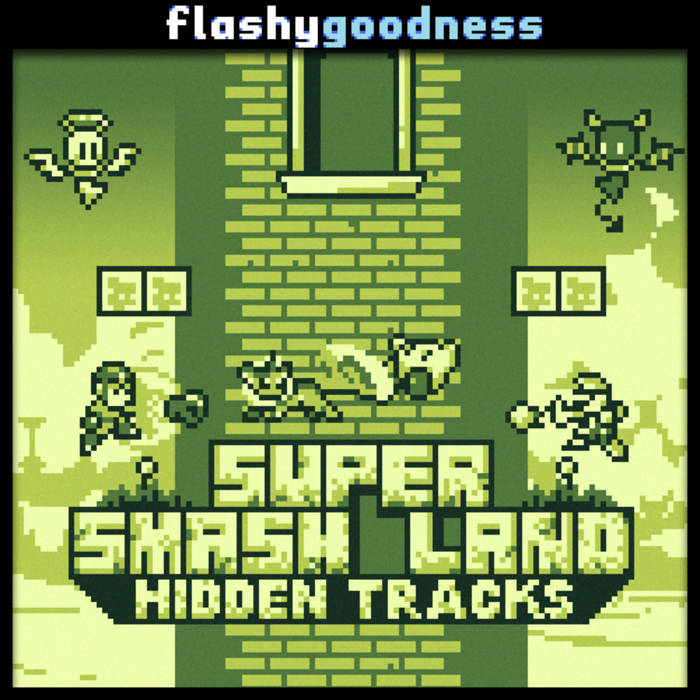 Super Smash Land Hidden Tracks cover art