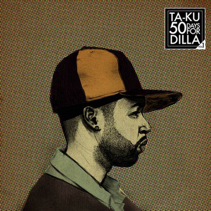 50 Days For Dilla (Vol. 1) cover art