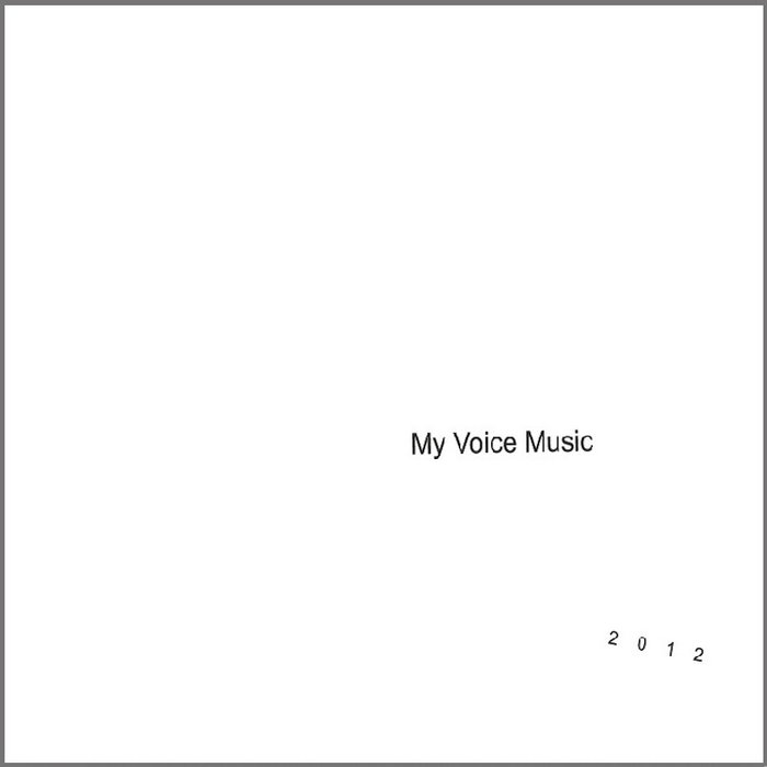 My Voice Music 2012 Student Compilation Album cover art