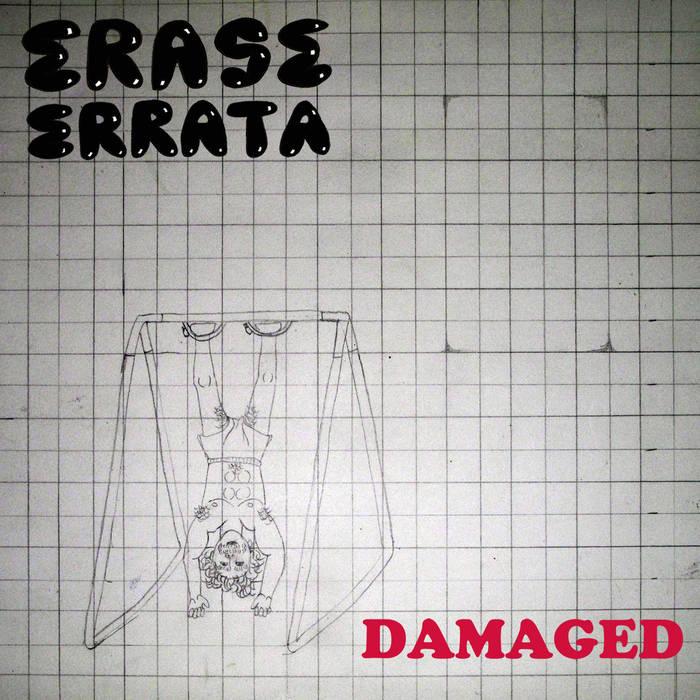 Damaged b/w Ouija Boarding cover art