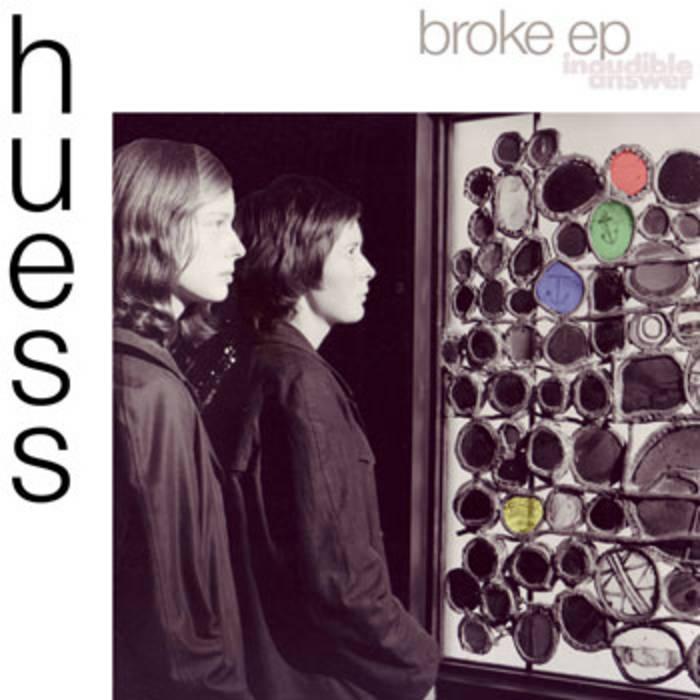 Broke EP cover art