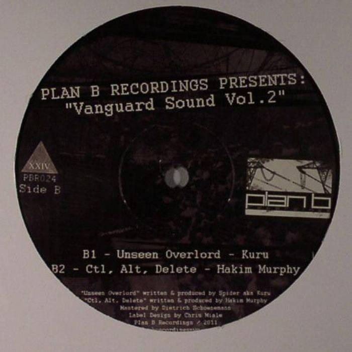 """""""Vanguard Sound Vol.2"""" (12"""" Vinyl) cover art"""