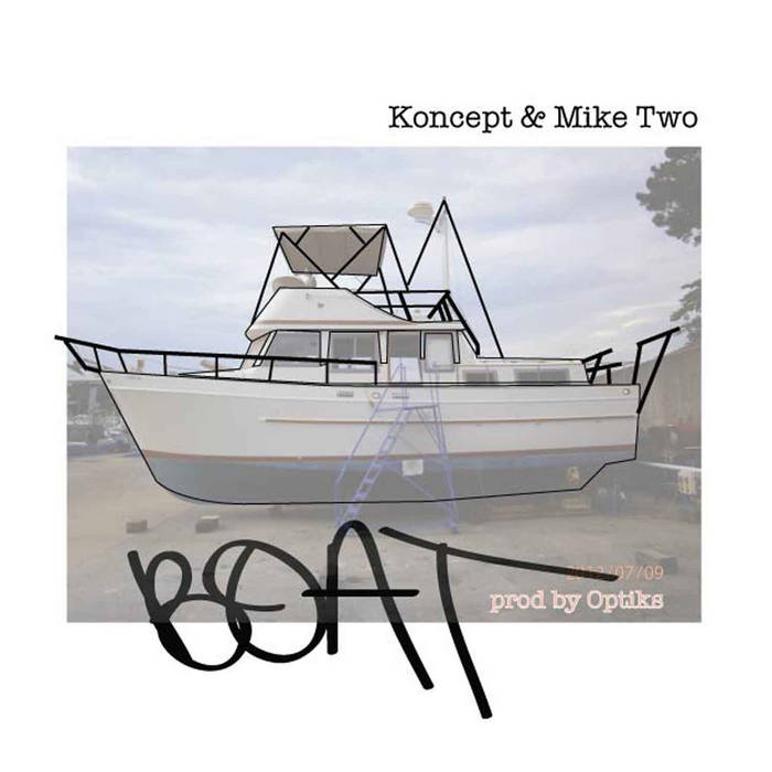 Boat cover art