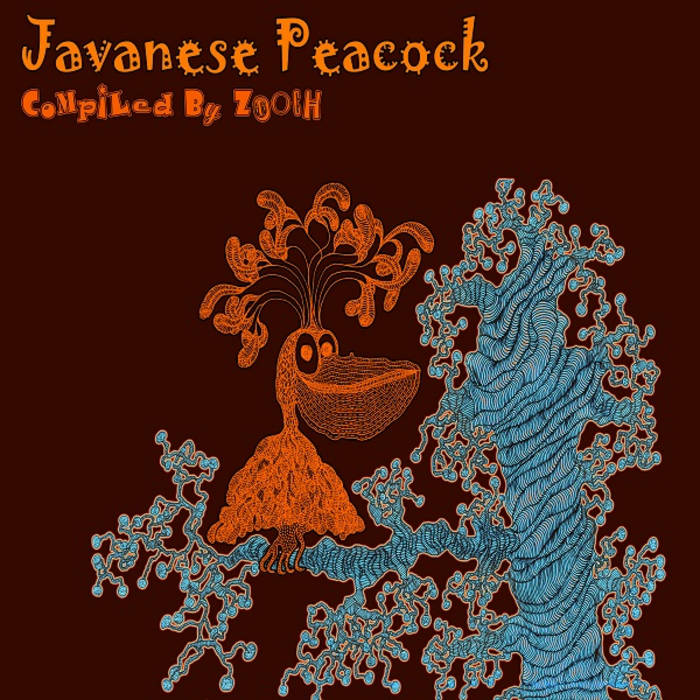 Various Artists - Javanese Peacock compiled by ZOOCH cover art