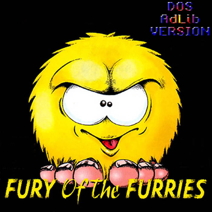 Fury Of The Furries OST (DOS AdLib) cover art