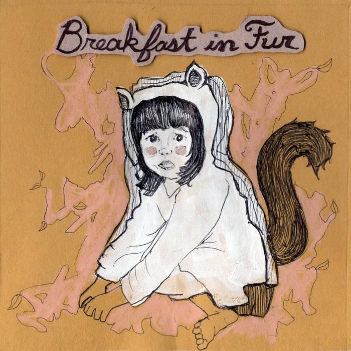 "Breakfast In Fur EP 10"" cover art"