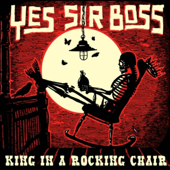 King In A Rocking Chair cover art