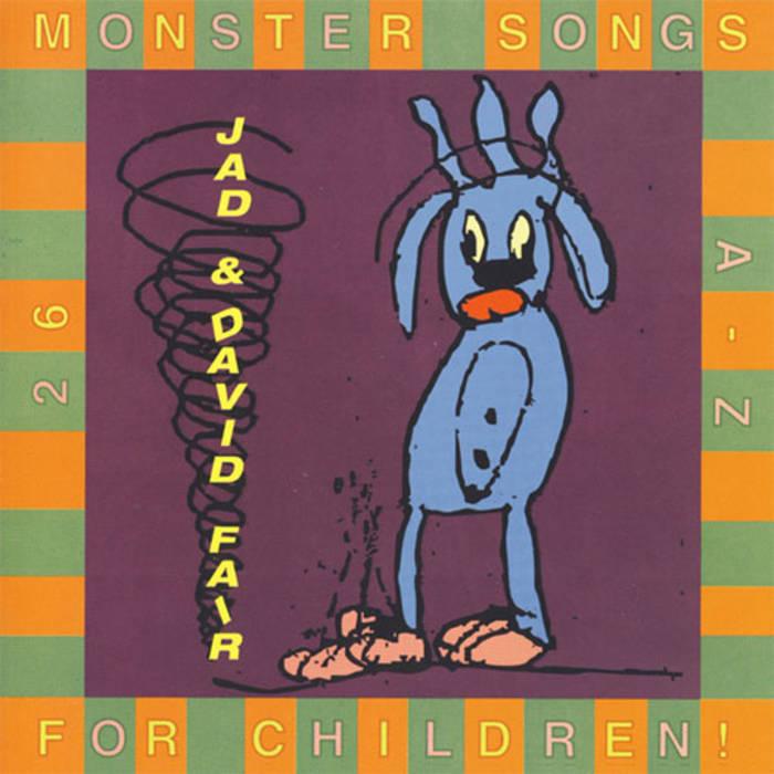 26 Monster Songs For Children cover art