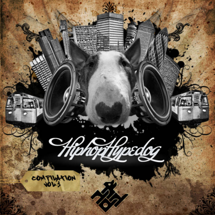 HIP HOP HYPE DOG COMPILATION - VOL. 1 cover art