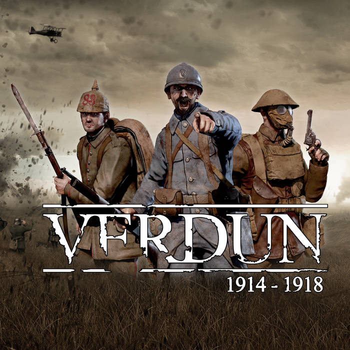 VERDUN - Music from the trailers cover art