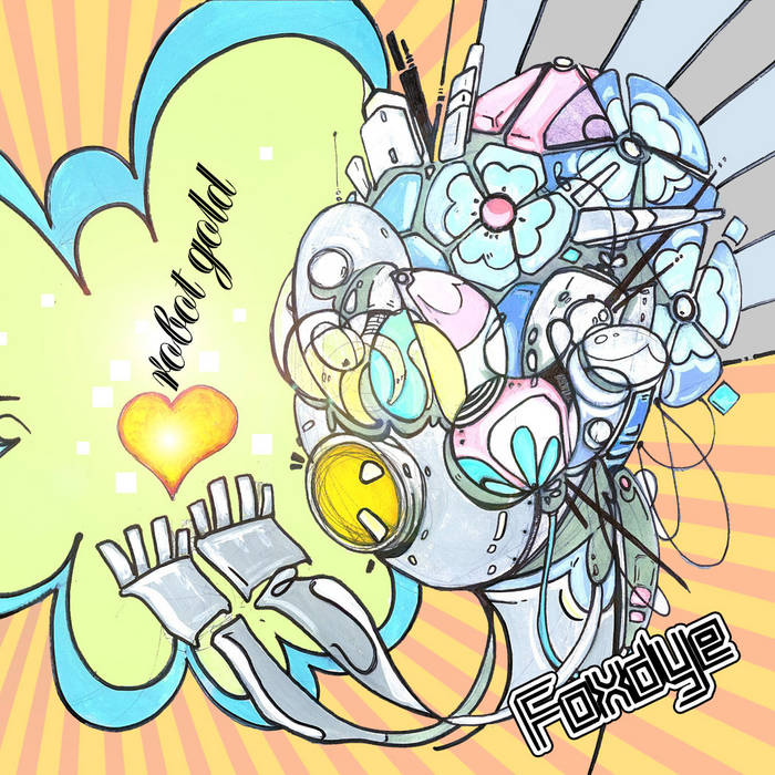 React:07 - Robot Gold cover art
