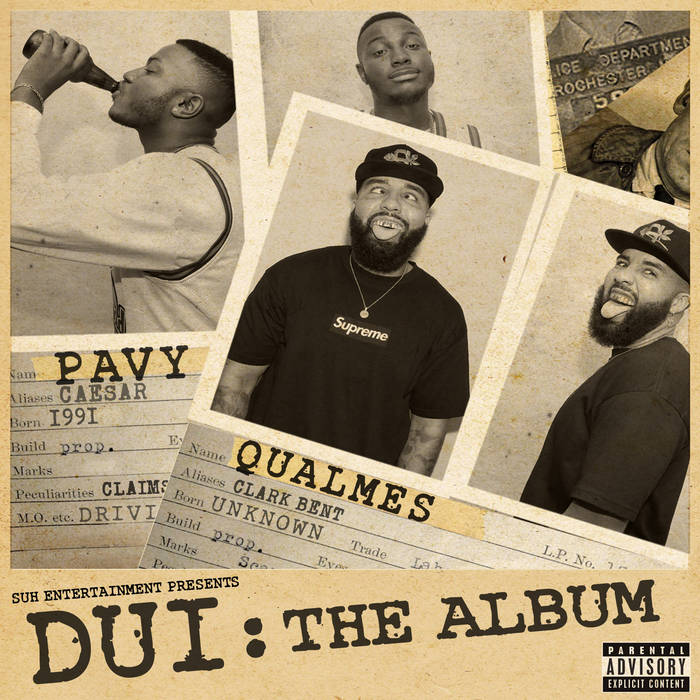 DUI: The Album (2015) cover art