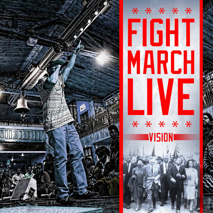 FightMarchLive cover art
