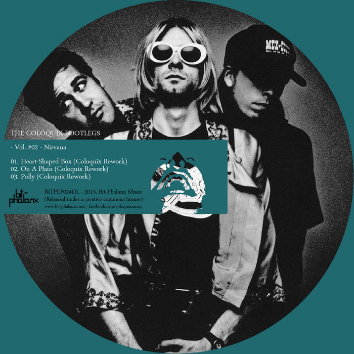 The Coloquix Bootlegs - Vol. #02: Nirvana cover art