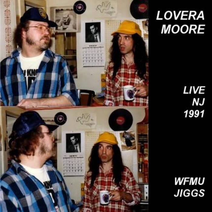 LoveraMoore '91 WFMU cover art