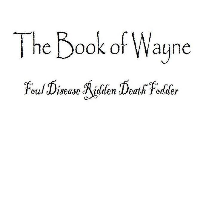 Foul Disease Ridden Death Fodder cover art