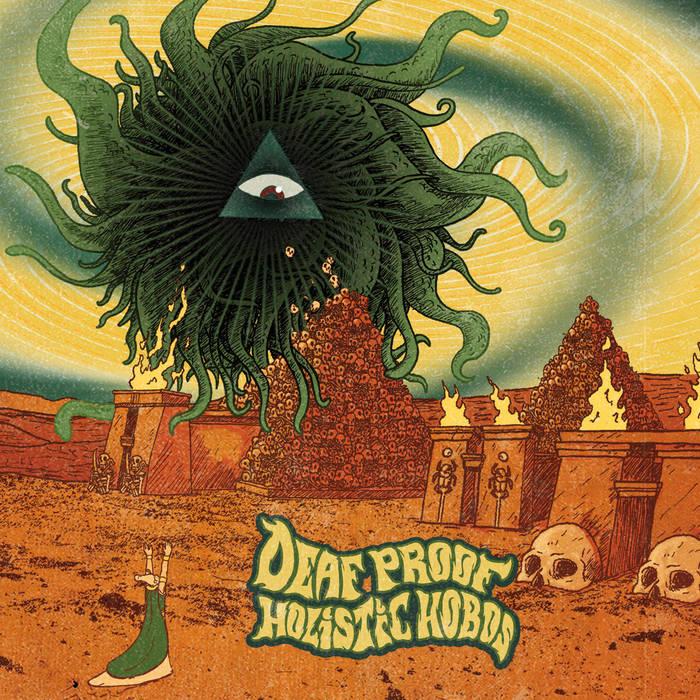 Deaf Proof Holistic Hobos Split cover art