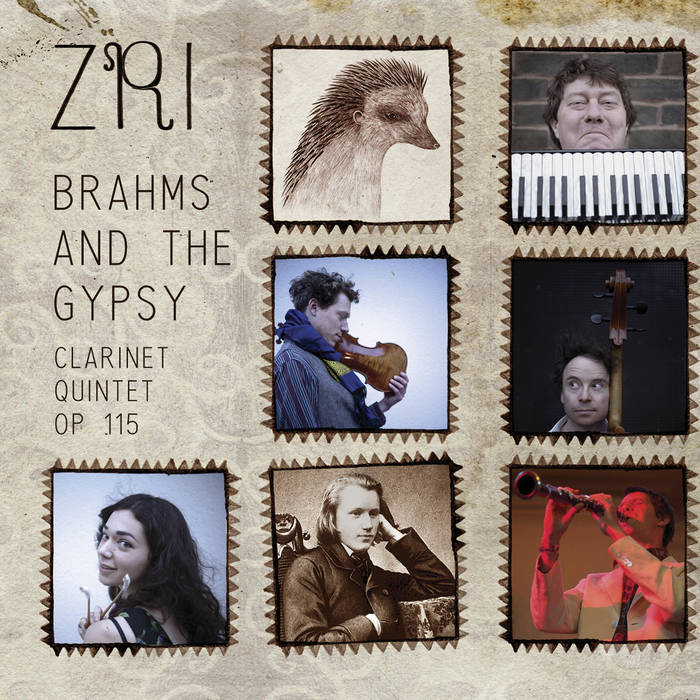 Brahms and the Gypsy : clarinet quintet op.115 cover art