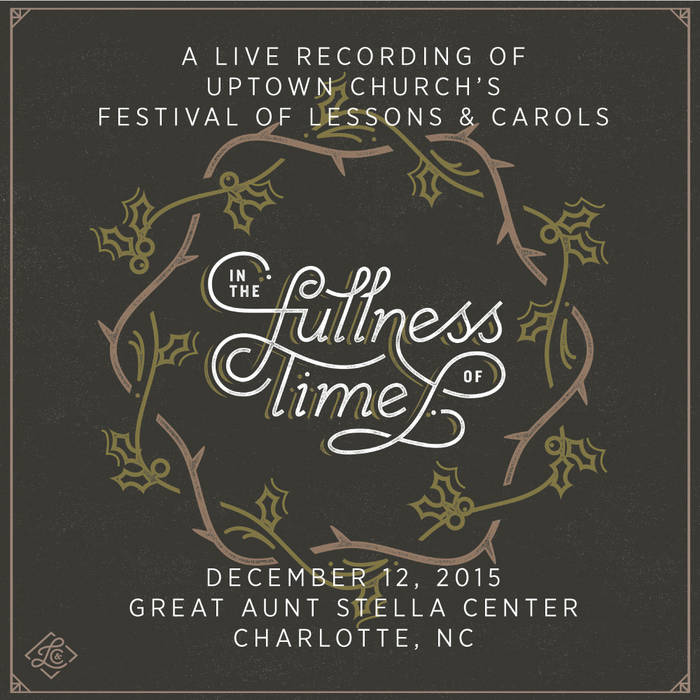 In the Fullness of Time - Lessons & Carols 2015 cover art