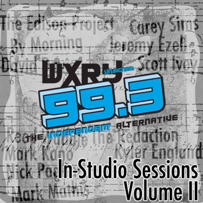 WXRY Unsigned In-Studio Sessions Volume II cover art