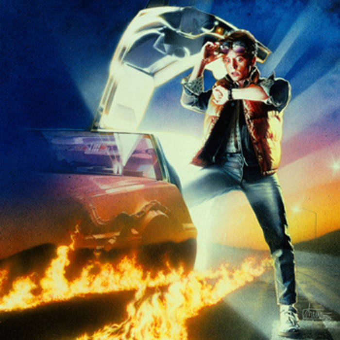 Back to the Future Trilogy cover art