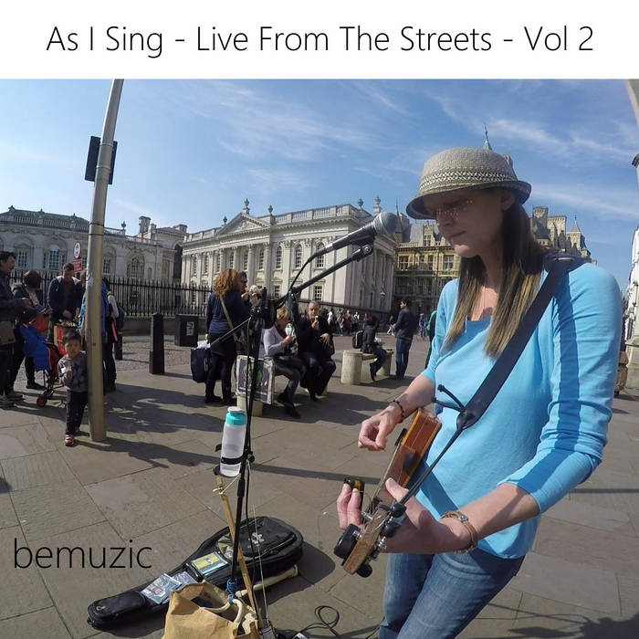 As I Sing - Live From The Streets - Vol 2 cover art