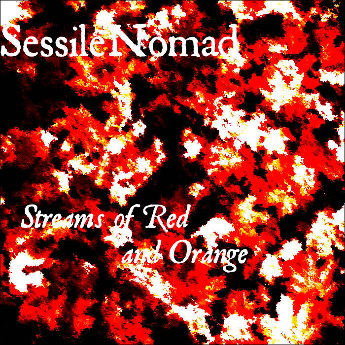 Streams of Red and Orange cover art