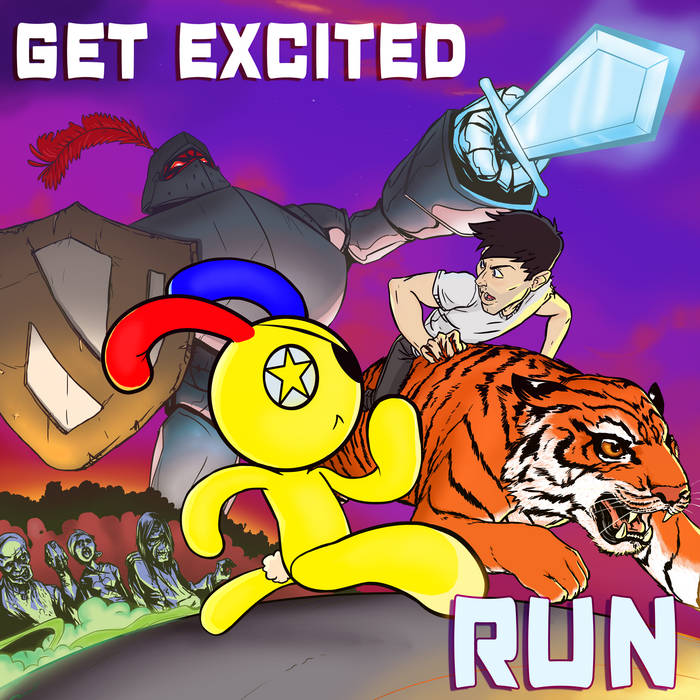 Run EP cover art