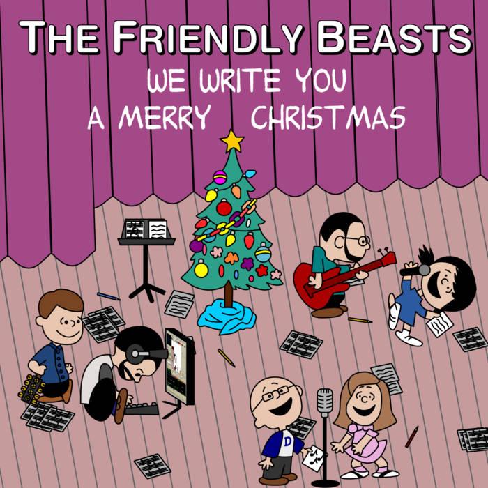We Write You A Merry Christmas cover art