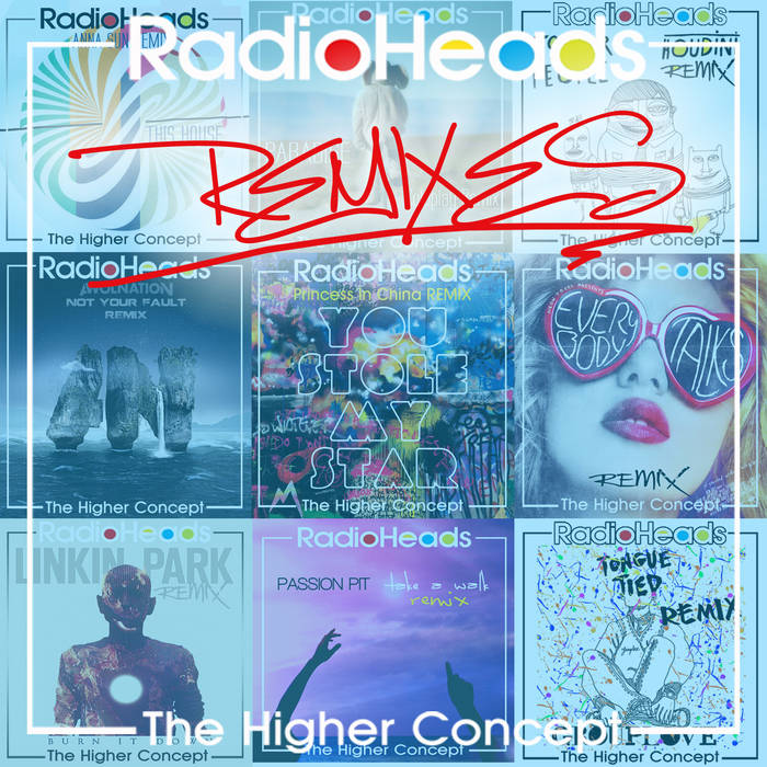 RadioHeads: An Indie-Rock Remix Project cover art