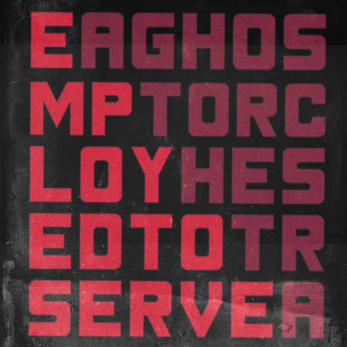 Employed To Serve/A Ghost Orchestra - Split cover art