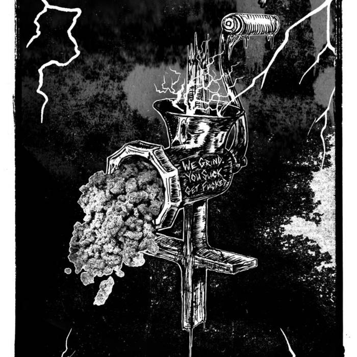 Grind The Lightning cover art