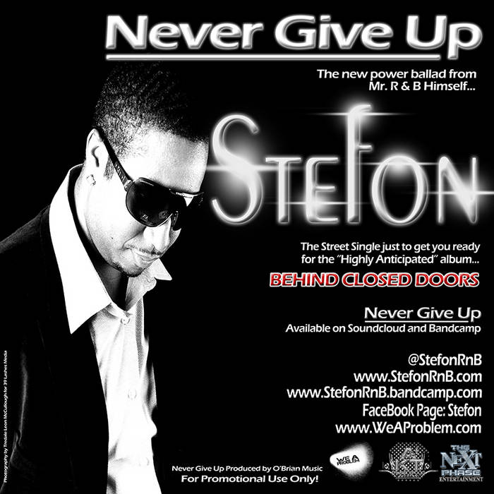 Never Give Up cover art