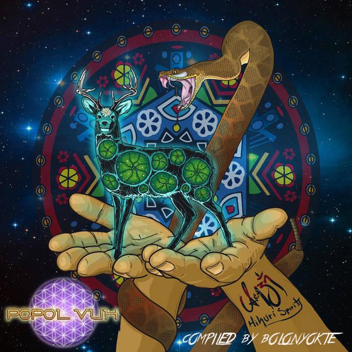 """V/A """"Hikuri Spirits"""" Compiled By Bolon Yokte cover art"""