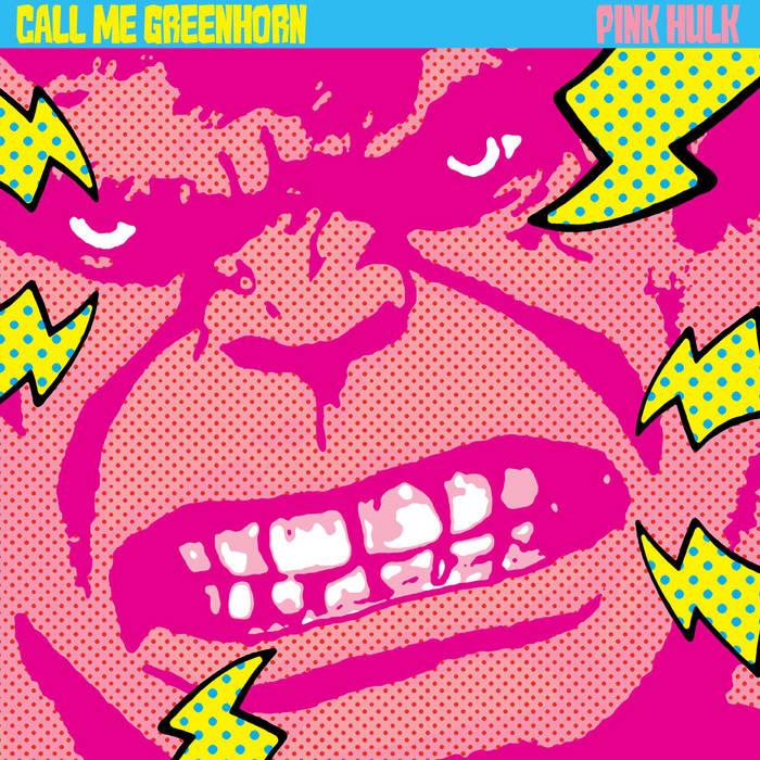 Pink Hulk cover art