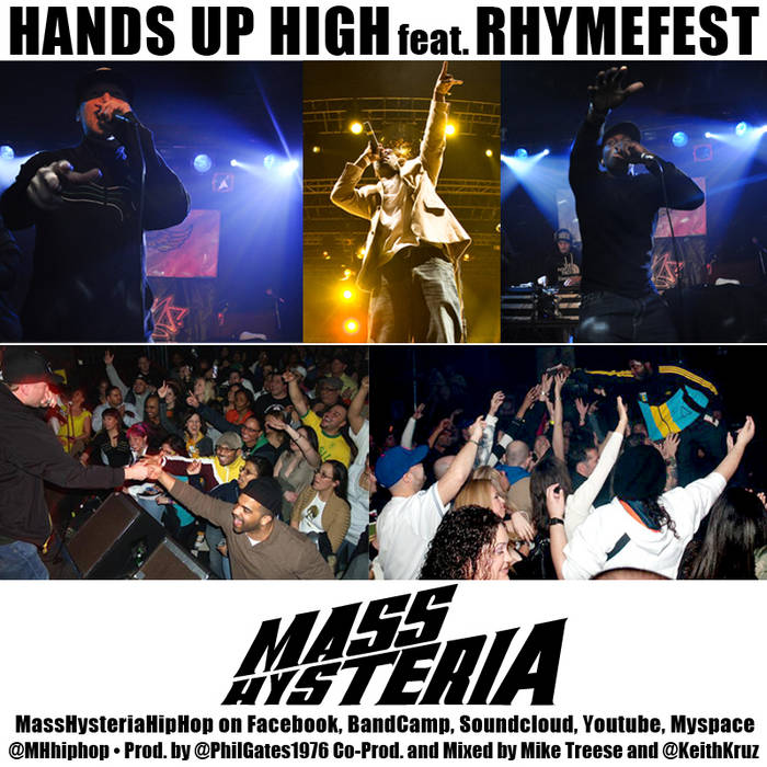 Hands Up High feat. Rhymefest cover art