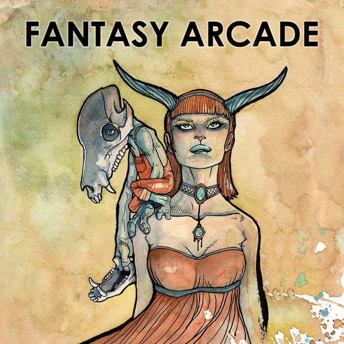 "Fantasy Arcade 7"" EP cover art"