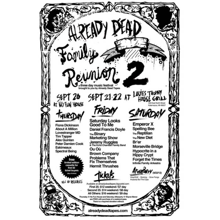 Already Dead Family Reunion Sampler 2012 cover art