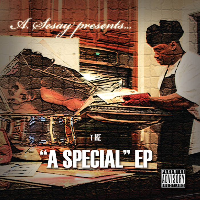 "A.Sesay presents: The ""A Special"" EP cover art"