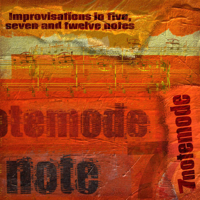Improvisations in five, seven and twelve notes cover art