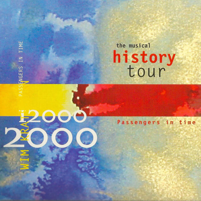PASSENGERS IN TIME  the musical history tour cover art